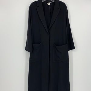 H & M Long Sleeve Duster/Trench Coat.  Size 12.